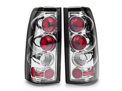 Axial Chrome Euro Style Tail Lights 03 06 Silverado 1500 Fleetside 117 00