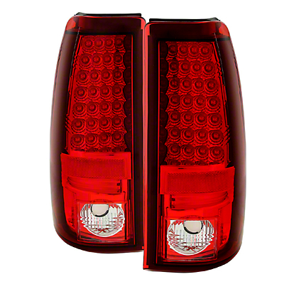 Axial Red LED Tail Lights (03-06 Silverado 1500 Fleetside)