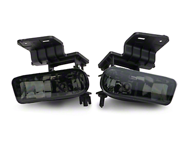 Axial Smoked OE Style Fog Lights w/o Wiring Harness - Pair (99-02 Silverado 1500)
