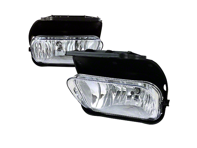 Axial Clear OE Style Fog Lights w/ Wiring Harness - Pair (03-06 Silverado 1500)