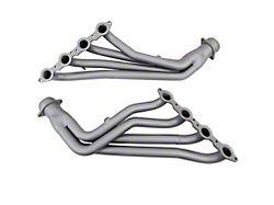 BBK 1-3/4-Inch Long Tube Headers with Y-Pipe; Chrome (99-02 4.8L, 5.3L Silverado 1500)