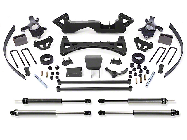 Fabtech 6 in. Performance Lift System w/ Dirt Logic SS Shocks (Late 00-06 4WD Silverado 1500)