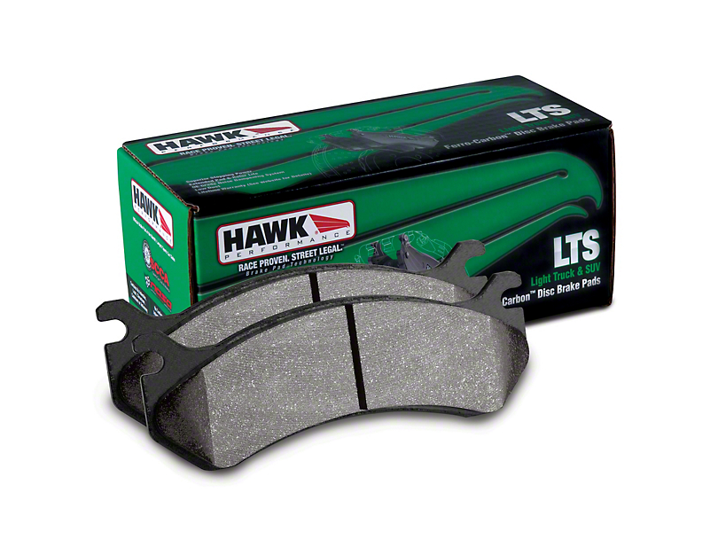Hawk Performance LTS Brake Pads - Rear Pair (99-06 Silverado 1500)