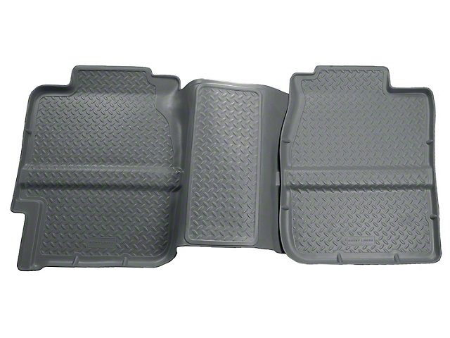 Husky Classic 2nd Seat Floor Liner - Grey (99-06 Silverado 1500 Extended Cab)