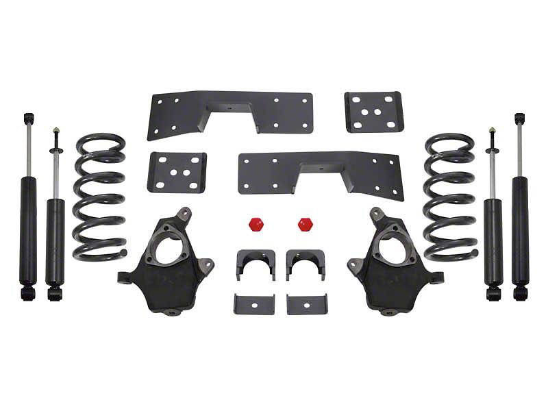 Max Trac Lowering Kit w/ Maxtrac Shocks - 3 in. Front / 5 in. Rear (99-06 2WD V8 Silverado 1500)