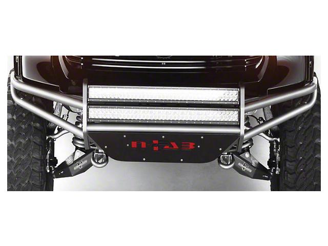 N-Fab R.S.P. Pre-Runner Front Bumper for Dual 38 in. Rigid LED Lights - Gloss Black (03-06 Silverado 1500)
