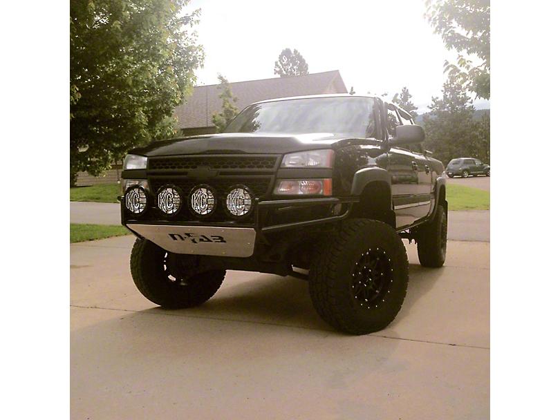 N-Fab R.S.P. Pre-Runner Front Bumper - Gloss Black (03-06 Silverado 1500)
