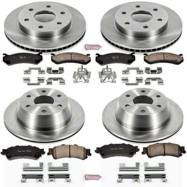 For 2005-2008 Chevrolet Silverado 1500 Brake Shoe Set Rear Power Stop 29429NJ