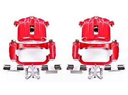 Power Stop Performance Rear Brake Calipers - Red (03-06 Silverado 1500 w/ Dual Piston Rear Caliper)