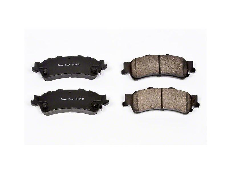 Power Stop Z16 Evolution Clean Ride Ceramic Brake Pads - Rear Pair (99-06 Silverado 1500 w/o Rear Drum Brakes)