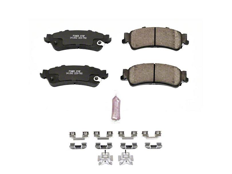 Power Stop Z23 Evolution Sport Ceramic Brake Pads - Rear Pair (99-06 Silverado 1500 w/o Rear Drum Brakes)