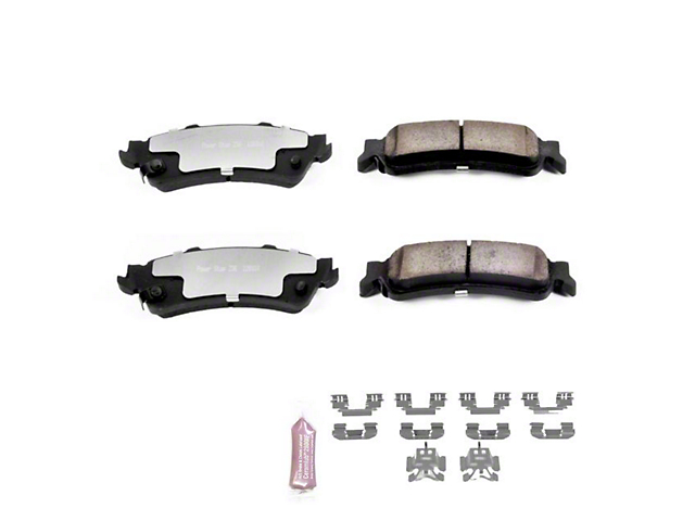 Power Stop Z36 Extreme Truck & Tow Carbon-Ceramic Brake Pads - Rear Pair (99-06 Silverado 1500 w/o Rear Drum Brakes)