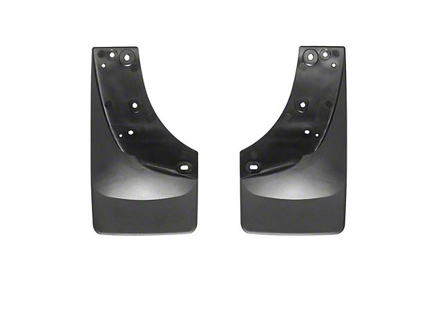 Weathertech No Drill Front Mud Flaps - Black (99-06 Silverado 1500)