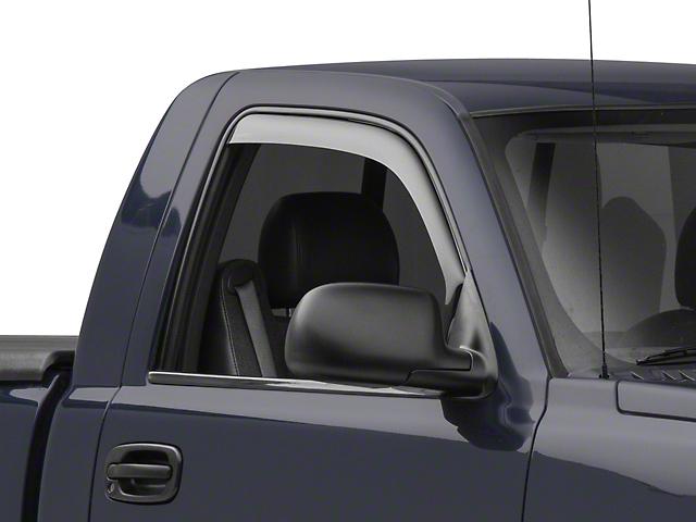 weathertech silverado front side window deflectors