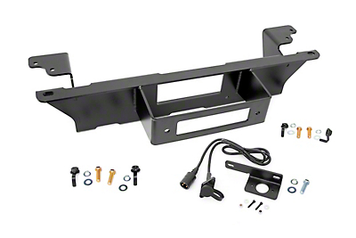 Rough Country Hidden Winch Mounting Plate (99-06 Silverado 1500)
