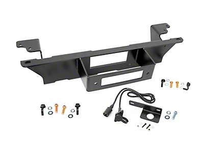 Rough Country Sierra Hidden Winch Mounting Plate 1080 (07-13