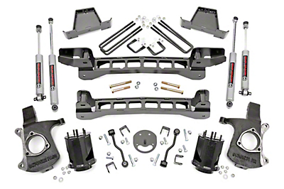 Rough Country 6 in. Suspension Lift Kit (99-06 2WD Silverado 1500)