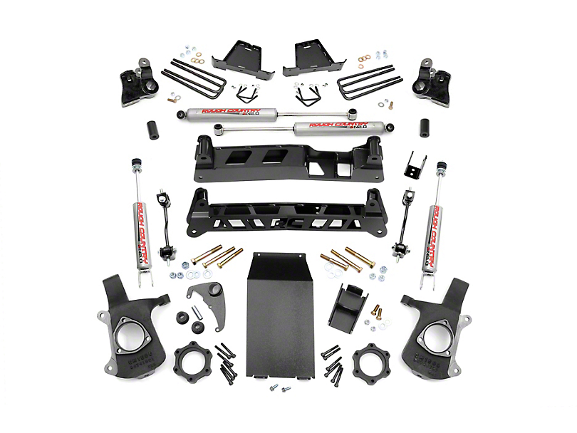 Rough Country 6 in. Non-Torsion Drop Suspension Lift Kit (99-06 4WD Silverado 1500)