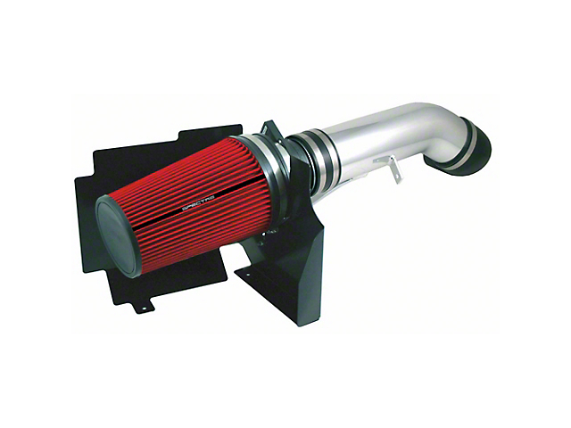 Spectre Performance Cold Air Intake with Red Filter; Polished (99-06 5.3L Silverado 1500)