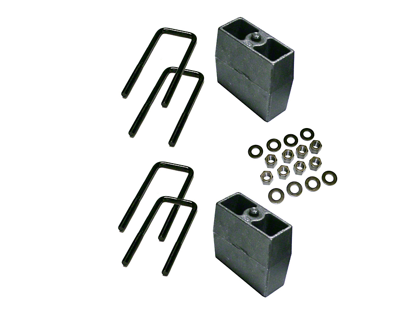 SuperLift 5 in. Rear Lift Block Kit (99-10 4WD Silverado 1500)