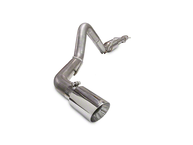 Carven Exhaust Competitor Series Single Exhaust System w/ Polished Tip -  Side Exit (10-18 5 3L Silverado 1500)