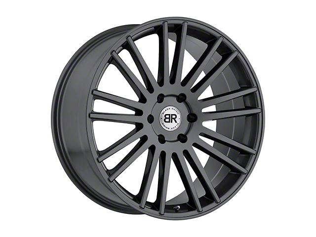 Black Rhino Karoo Gloss Gunmetal 6-Lug Wheel; 24x10; 20mm Offset (14-18 Silverado 1500)