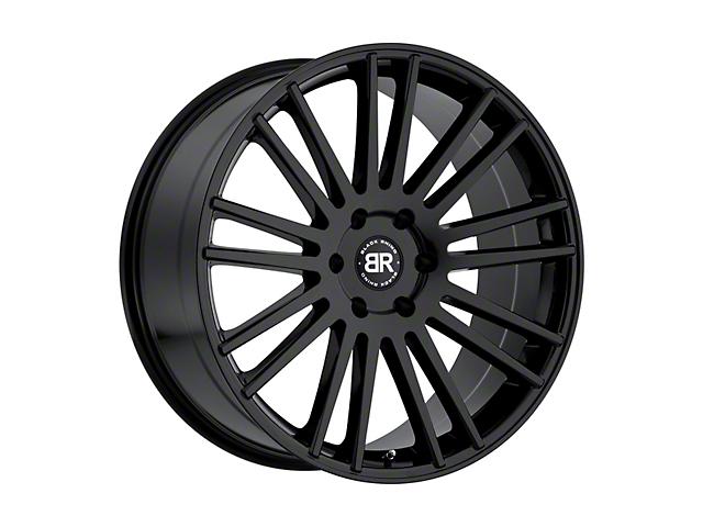Black Rhino Kruger Gloss Black 6-Lug Wheel; 24x10; 25mm Offset (14-18 Silverado 1500)