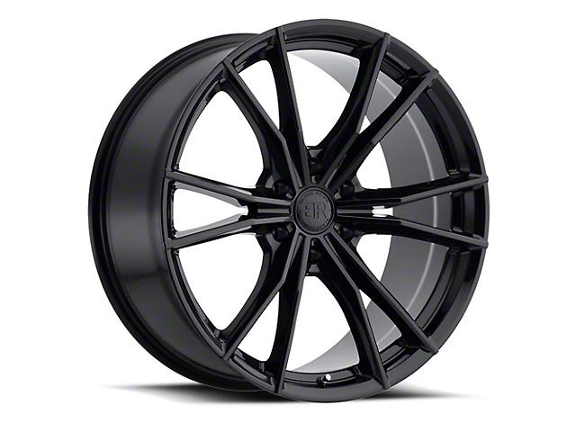 Black Rhino Zion Gloss Black 6-Lug Wheel; 22x9.5; 20mm Offset (14-18 Silverado 1500)