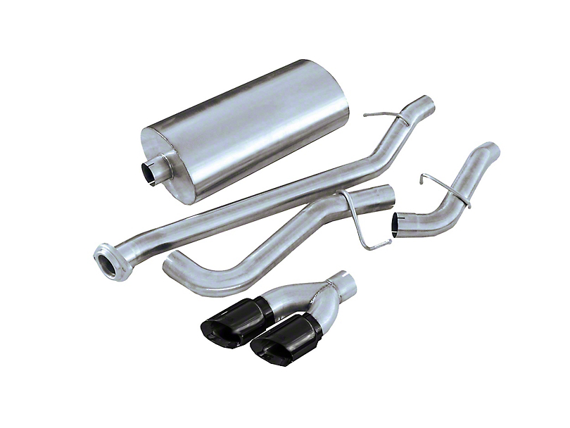 Corsa 3 in. Sport Single Exhaust System w/ Twin Black Tips - Side Exit (99-06 5.3L Silverado 1500)