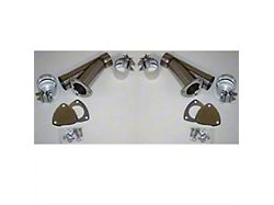 Granatelli Motor Sports Manual Exhaust Cutout; 2.50-Inch; Pair (Universal; Some Adaptation May Be Required)