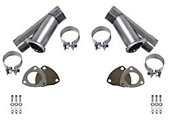 Granatelli Motor Sports Manual Exhaust Cutout; 3-Inch; Pair (Universal; Some Adaptation May Be Required)