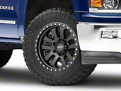 Pro Comp Wheels Prodigy Satin Black 6-Lug Wheel; 17x9; -6mm Offset (14-18 Silverado 1500)