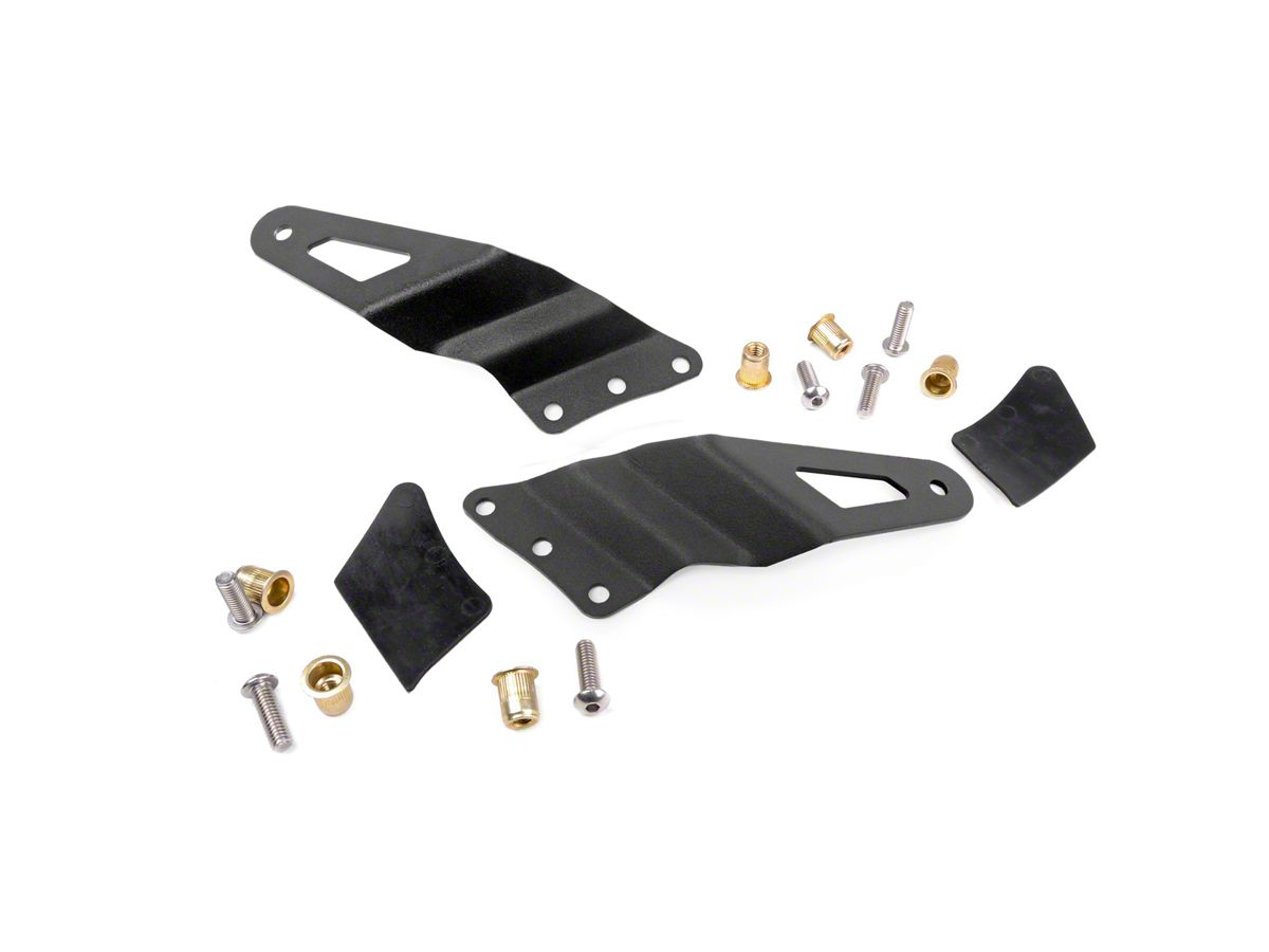 Rough Country 54 in  Curved LED Light Bar Upper Windshield Mounting  Brackets (99-06 Silverado 1500)