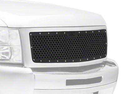 Rough Country Mesh Upper Grille Insert - Black (07-13 Silverado 1500)