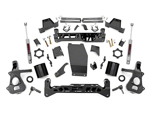 Rough Country 7 in. Suspenion Lift Kit (2018 4WD Silverado 1500)