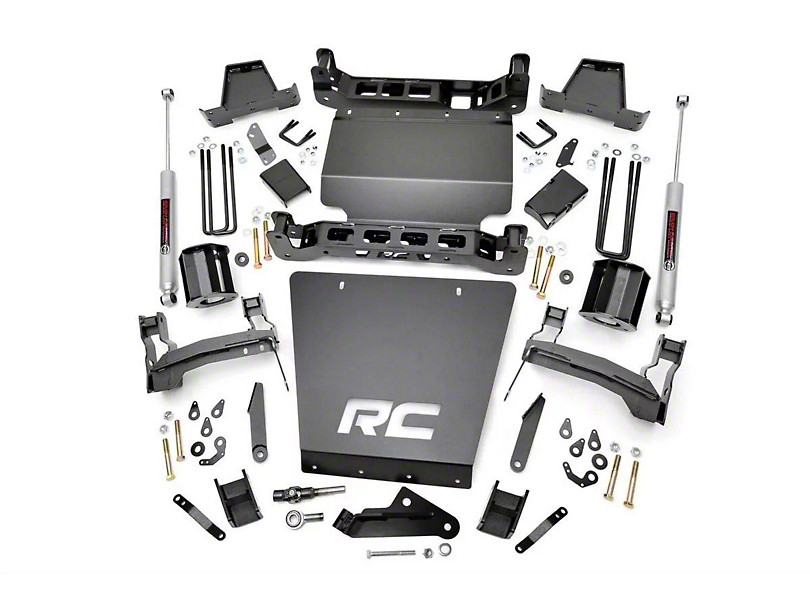 Rough Country 7 in. Suspension Knuckle Lift Kit (14-17 4WD Silverado 1500 w/ Stamped Steel Control Arms)