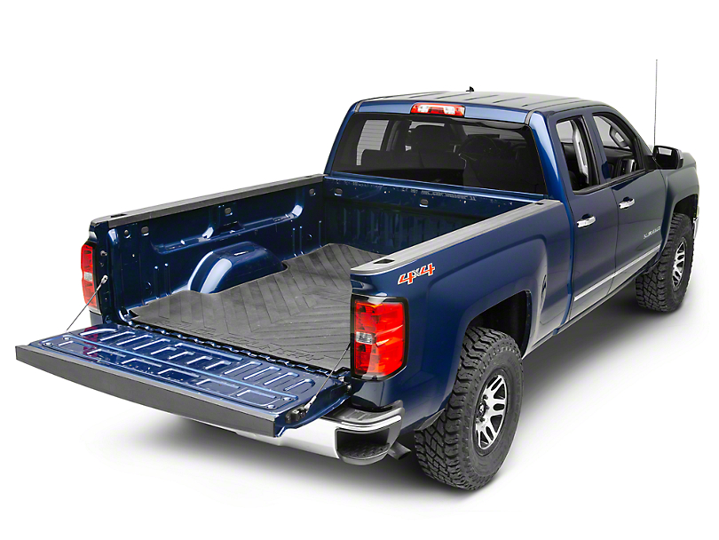 Rough Country Bed Mat w/ RC Logos (07-18 Silverado 1500 w/ Short & Standard Box)