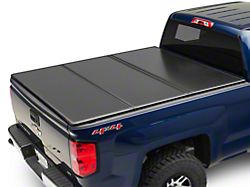 Rough Country Hard Tri-Fold Tonneau Bed Cover (14-18 Silverado 1500 w/ Standard Box)