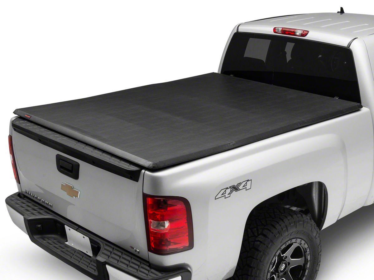 Silverado Bed Cover >> Rough Country Soft Tri Fold Tonneau Bed Cover 07 13 Silverado 1500