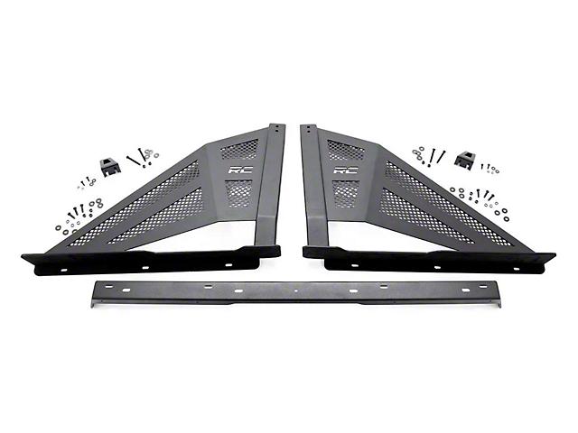 Rough Country Sport Bar w/ 50 Inch Chrome Series LED Light Bar (07-18 Silverado 1500)