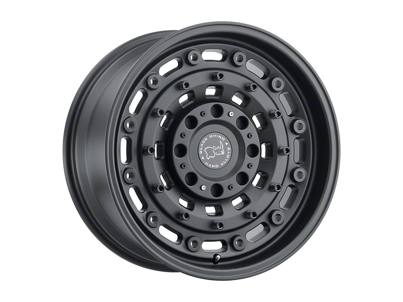 Black Rhino Arsenal Textured Matte Black 6-Lug Wheel - 18x9.5 (99-20 Silverado 1500)