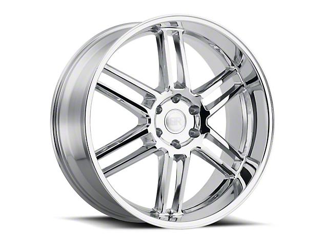 Black Rhino Katavi Chrome 6-Lug Wheel; 22x10 (99-20 Silverado 1500)