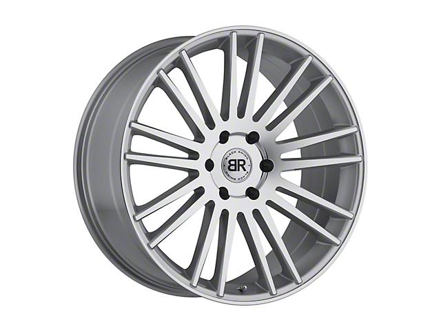 Black Rhino Kruger Silver 6-Lug Wheel; 22x9.5 (99-20 Silverado 1500)