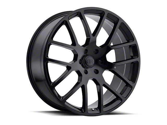 Black Rhino Kunene Gloss Black 6-Lug Wheel; 22x9.5 (99-20 Silverado 1500)