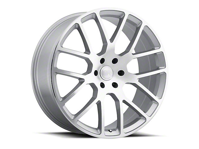 Black Rhino Kunene Silver 6-Lug Wheel; 20x9 (99-20 Silverado 1500)