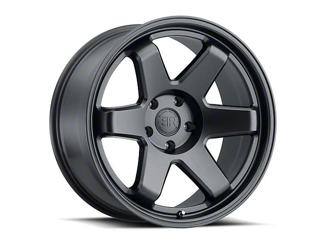 Black Rhino Roku Gunblack 6-Lug Wheel; 18x9.5 (99-20 Silverado 1500)