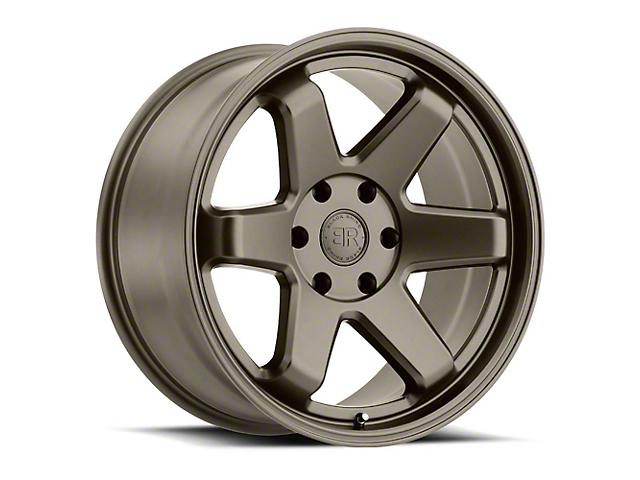 Black Rhino Roku Matte Bronze 6-Lug Wheel; 20x9.5 (99-20 Silverado 1500)