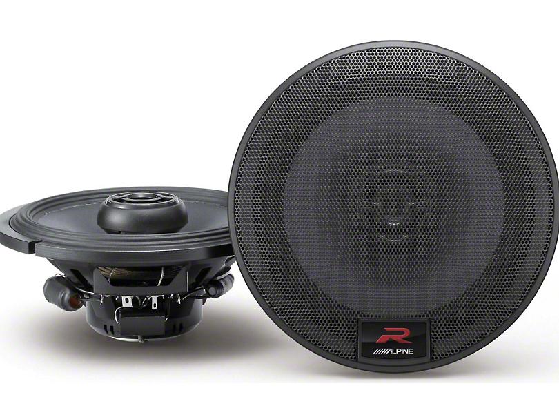 Alpine R-Series 6-1/2 in. Coaxial 2-Way Speakers - 100W (07-13 Silverado 1500)