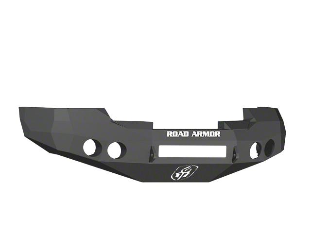 Road Armor Stealth Non-Winch Front Bumper - Satin Black (07-13 Silverado 1500)