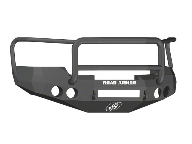 Road Armor Stealth Non-Winch Front Bumper w/ Lonestar Guard - Satin Black (07-13 Silverado 1500)
